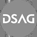 Das Logo der Deutschsprachigen SAP-Anwendergruppe (DSAG)